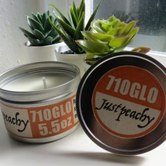 5.5oz Just Peachy Soy Candle