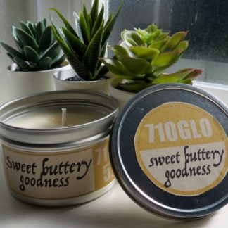 5.5oz sweet buttery goodness soy candle